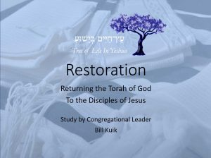 Series of Restoration Teachings